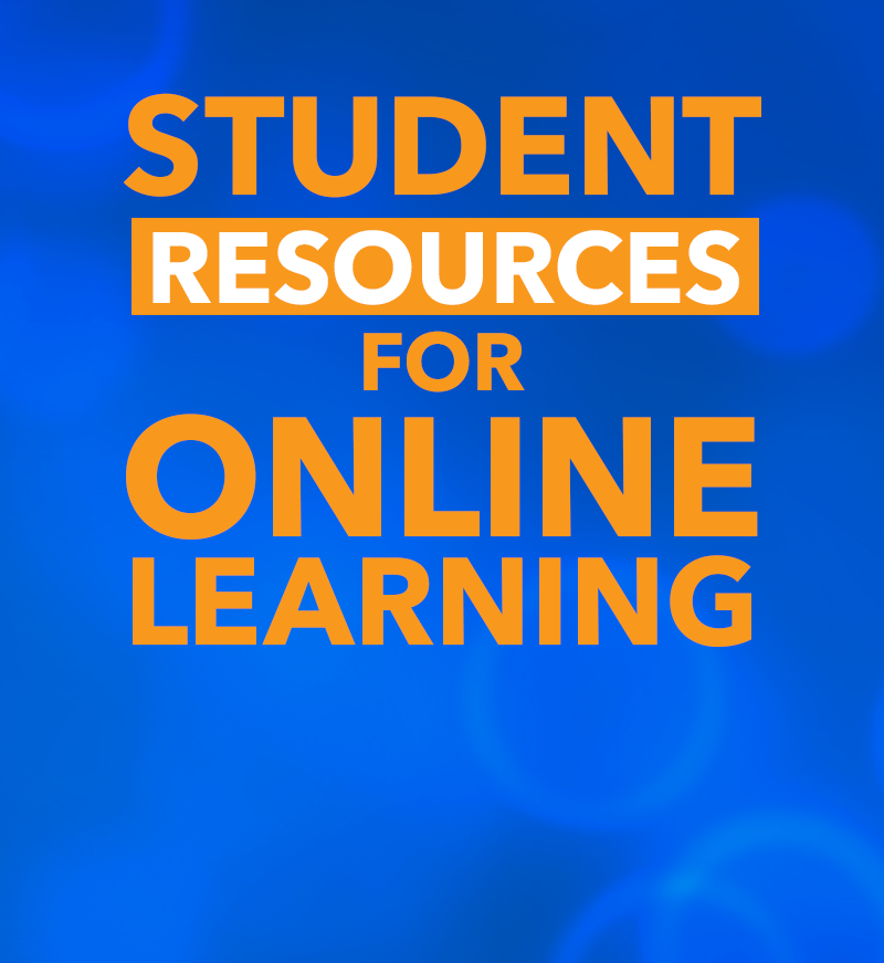 Student resources for online and remote learning during COVID-19