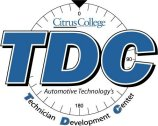 Citrus College Auto Technology Technicial Development Center logo
