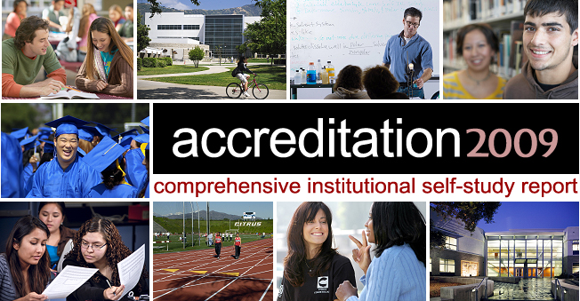 Accreditation 2009: Comprehensive Institutional Self-Study Report