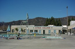 Citrus College Aquatic Center building