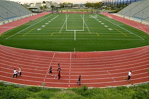 Citrus College track and stadium