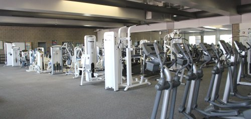 equipment in the Fitness Center