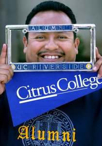 Citrus College alum and transfer student