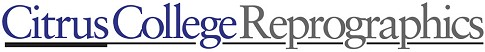 Citrus College Reprographics logo