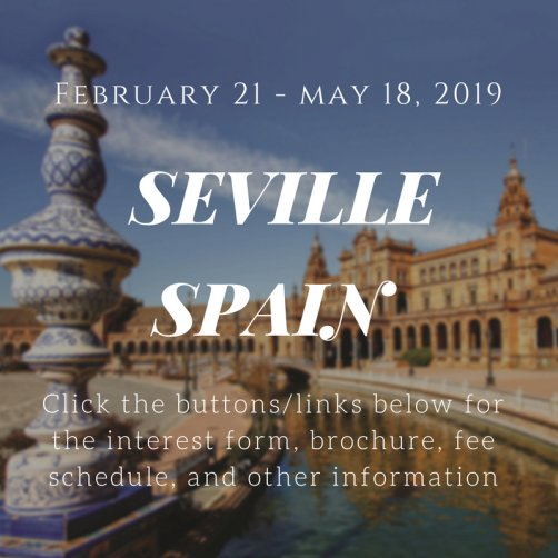 February 21-May 18 2019 Seville Spain